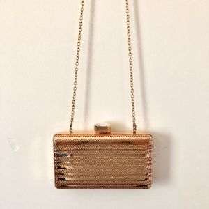 New Rose Gold Clutch